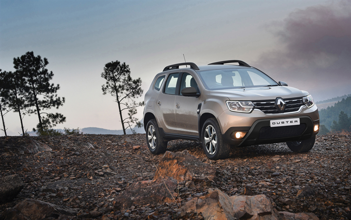 Renault Duster, 4k, offroad, 2019 carros, crossovers, francês carros, 2019 Renault Duster, Renault