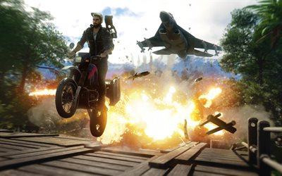 4k, Just Cause 4, poster, 2018 games, JC4, Rico Rodriguez