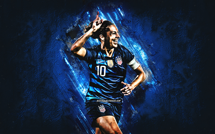 Download Wallpapers Carli Lloyd United States Womens