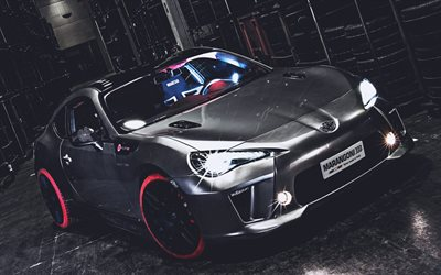 Toyota GT86, optimización de 2019 coches, supercars, los coches japoneses, HDR, Toyota GT-86, Toyota