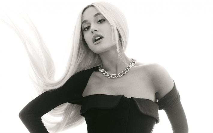 Download Wallpapers Ariana Grande American Singer