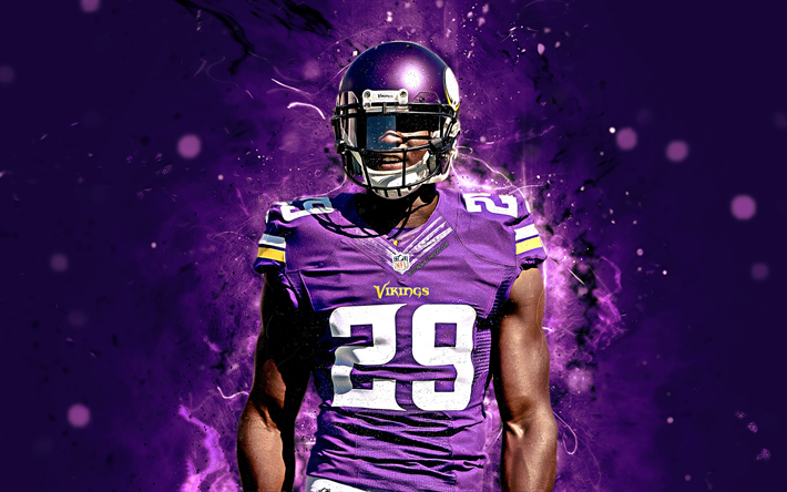 American Football Wallpapers With Wallpaper Editor By: Download Wallpapers 4k, Xavier Rhodes, Abstract Art