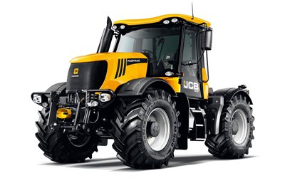 JCB Fastrac 3230, Agricultural tractor, new Fastrac 3230, white background, tractors, JCB