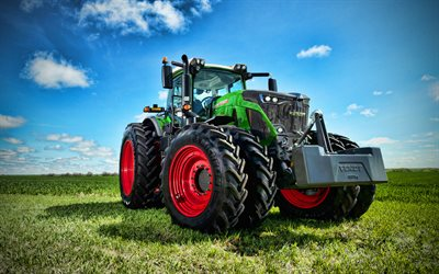 Fendt 942 Vario, 4k, 2020 tractors, agricultural machinery, tractor, new 942 Vario, field, harvesting concepts, Fendt
