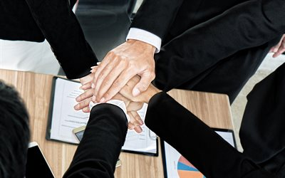 teamwork, business people, business, team, teamwork concepts, team handshake