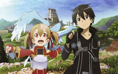 Sword Art Online, novel, Characters, anime, SAO