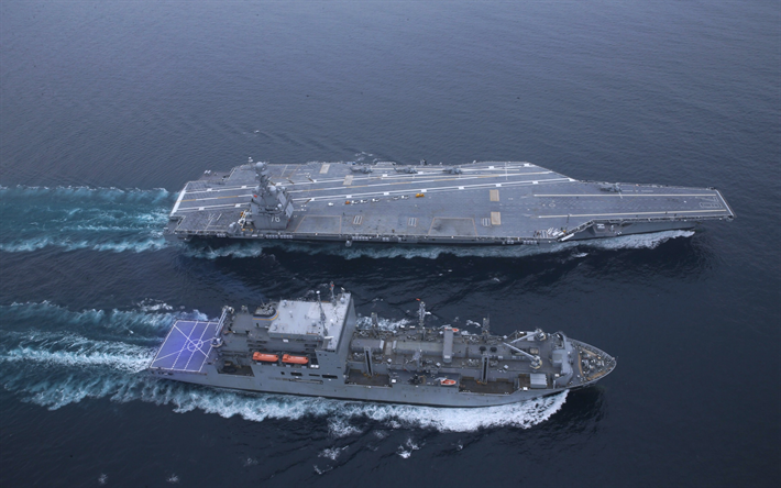 Download Wallpapers Aircraft Carrier Uss Gerald R Ford