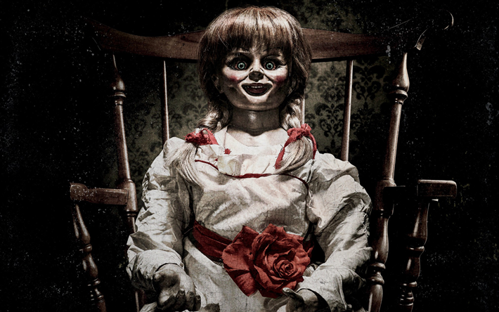 Download Wallpapers Annabelle Creation 2017 Annabelle 2 Poster New Movies Doll For Desktop Free Pictures For Desktop Free
