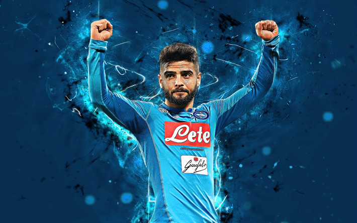 Download Wallpapers Lorenzo Insigne 4k Abstract Art Napoli