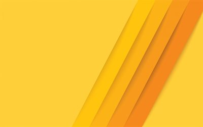yellow lines background, material design, yellow lines, creative yellow background, lines background