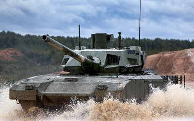 Russian battle tank, T-14, Armata, Russian army, modern armored vehicles, tank