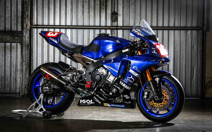 Download Wallpapers Yamaha Yzf R1 Gmt94 4k 2017 Bikes Sportbikes Ewc Team Yamaha For Desktop Free Pictures For Desktop Free