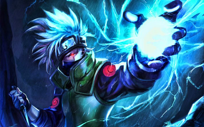 thumb2 kakashi hatake battle naruto characters artwork sharingan