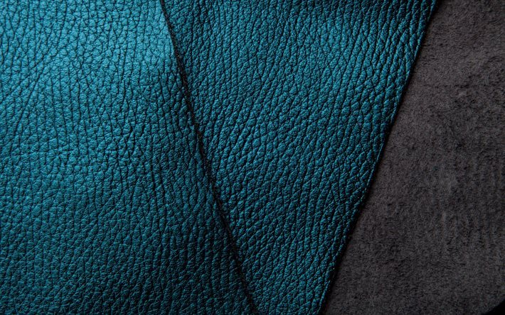skin texture, blue leather, black leather