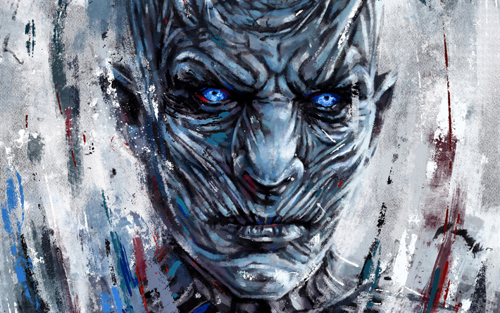 Night King Art White Walkers Game Of Thrones