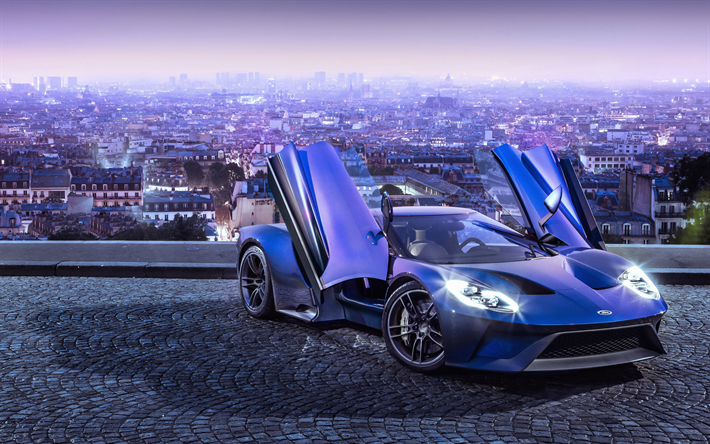 Download Wallpapers Ford Gt 4k Supercars 2018 Cars