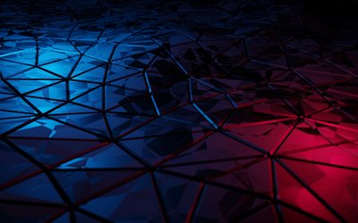 4k, triangles patterns, 3D textures, geometric shapes, background with triangles, geometric textures, triangles, 3D triangles, geometric patterns