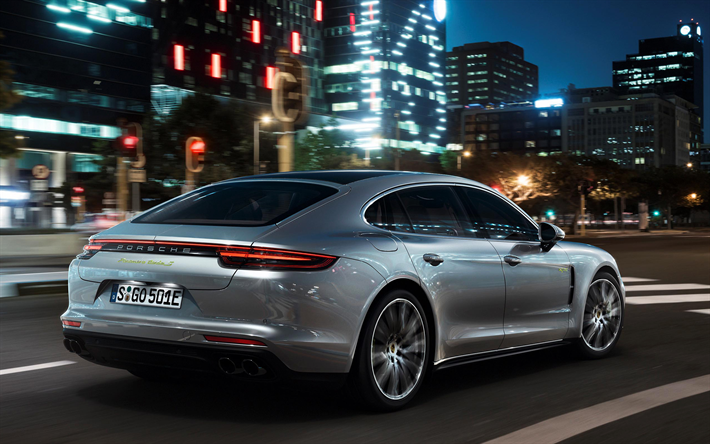 Porsche Panamera Turbo S E Hybrid 2017 680 HP Sports 4