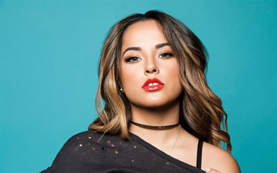 4k, Becky G, 2019, american singer, Hollywood, portrait, american celebrity, Rebbeca Marie Gomez, beauty, Becky G photoshoot