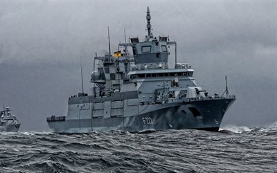 Baden-Wurttemberg, F222, German frigate, Baden-Wurttemberg-class frigate, German warship, German navy, Germany