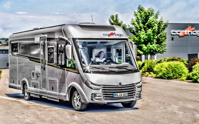 Fiat Ducato Carthago Chic E-Line I, 4k, HDR, motor home, 2019 buses, residential car, 2019 Fiat Ducato Carthago, Fiat