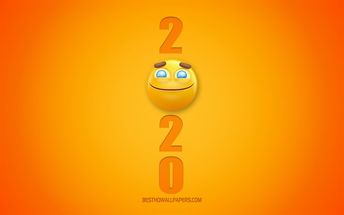 Download Wallpapers 2020 Funny Background 2020 3d