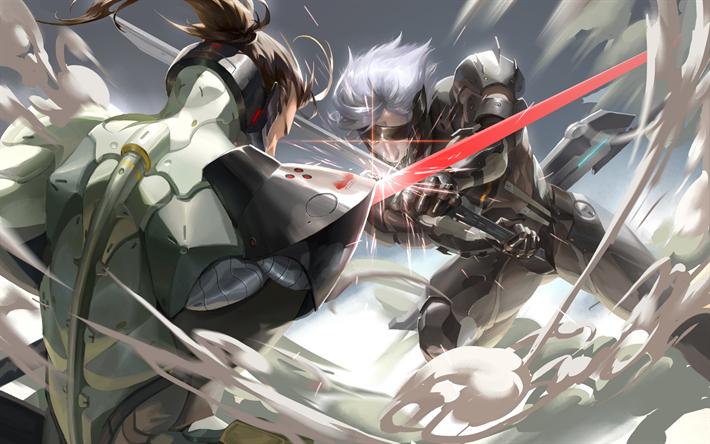 Herunterladen Hintergrundbild Metal Gear Rising Revengeance Jack