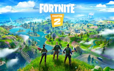 Fortnite, Chapter 2 2019, poster, promotional materials, new games