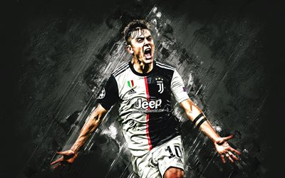 Paulo Dybala, Juventus FC, Argentinean footballer, forward, Juventus FC 2020 uniform, Serie A, Italy, football