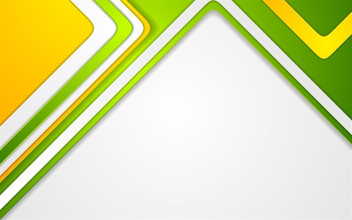 geometric designs, green rectangles, lines, green yellow abstraction