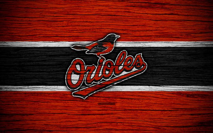 Baltimore Orioles, 4k, MLB, baseball
