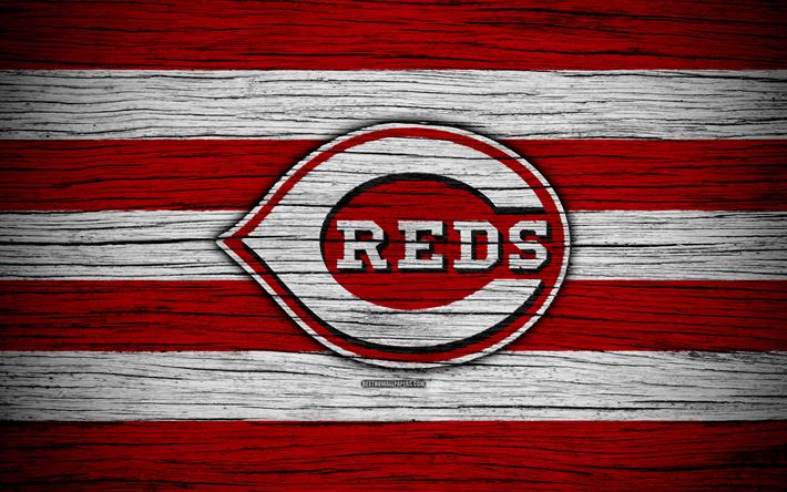 Cincinnati Reds 4k MLB Baseball USA Major League Wooden