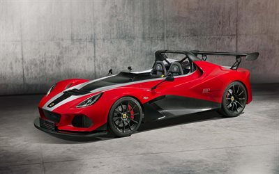 Lotus 3-Eleven 430, 2018, roadster, red sports coupe, racing car, British sports cars, Lotus