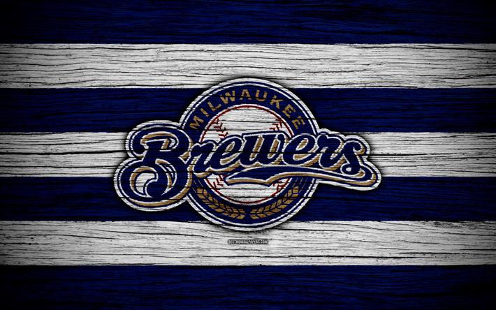 Milwaukee Brewers, 4k, MLB, baseball