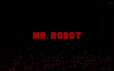 Mr Robot, 4k, TV Series, 2018 movie, minimal, logo