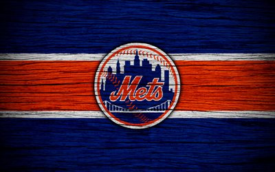 Download wallpapers New York Mets, 4k, MLB, baseball, USA