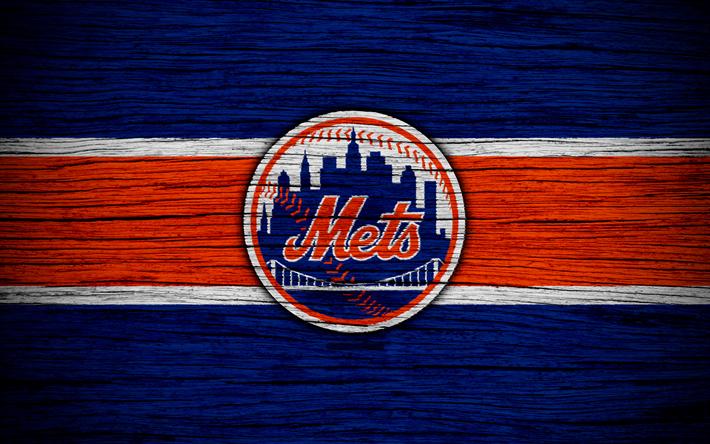 download wallpapers new york mets 4k mlb baseball usa