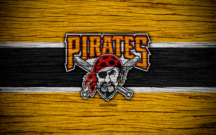 Download Wallpapers Pittsburgh Pirates 4k Mlb Baseball Usa