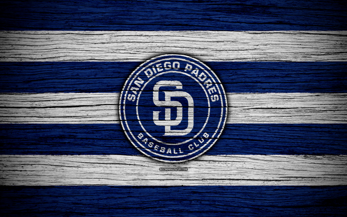 Download Wallpapers San Diego Padres 4k Mlb Baseball Usa Major League Baseball Wooden Texture Art Baseball Club For Desktop Free Pictures For Desktop Free