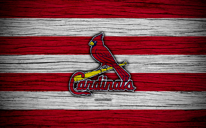 St Louis Cardinals, 4k, MLB, baseball, USA, Major League Baseball,