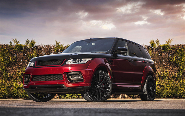 Range Rover Autobiography, 2018 cars, Project Kahn, tuning, Land Rover, SUVs