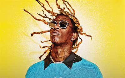 Young Thug, American rapper, portrait, american singer, photoshoot, Jeffery Lamar Williams