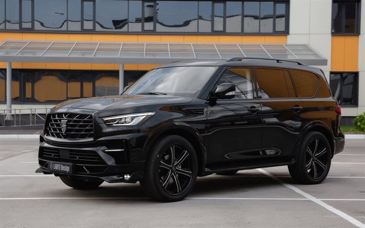Download wallpapers Infiniti QX80 Larte Design, 2020 ...