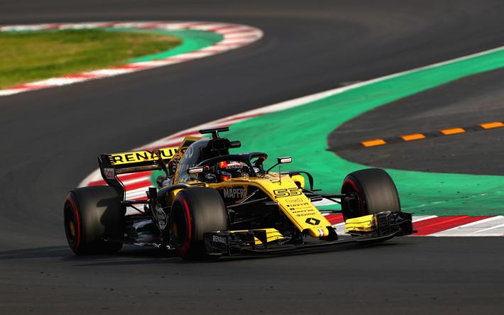 Descargar Fondos De Pantalla Carlos Sainz Renault Rs18 4k