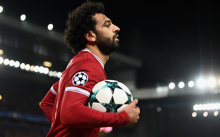 Download wallpapers mohamed salah 4k egyptian football - Mohamed salah wallpaper ...