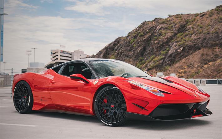 Descargar Fondos De Pantalla Ferrari 458 Italia Sporscars Los