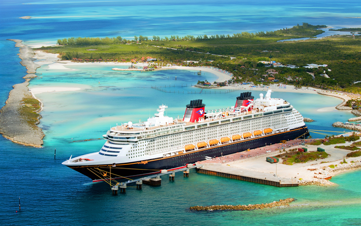 Download Wallpapers Disney Dream 4k Cruise Ship Port Pier Disney Cruise Line For Desktop Free Pictures For Desktop Free