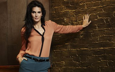 Angie Harmon, american actress, photoshoot, american star, stylish female costume