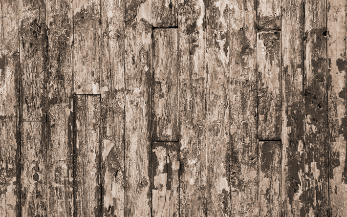 Download wallpapers old wooden planks texture, old wooden