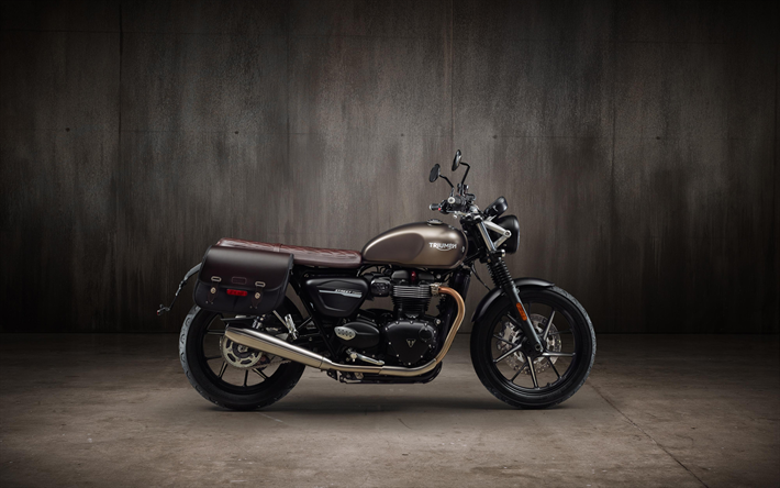 Download Wallpapers Triumph Speed Twin, 4k, Classic